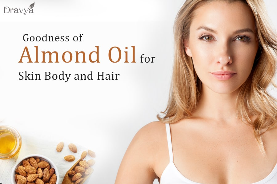 Goodness of Almond Oil for Skin Body and Hair-min